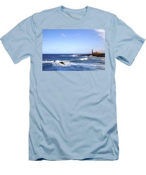 Tenerife - Garachico  Men's T-Shirt (Slim Fit) by Joana Kruse