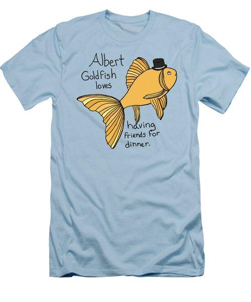 Albert Fish Men's T-Shirt (Slim Fit) by Tamera Dion