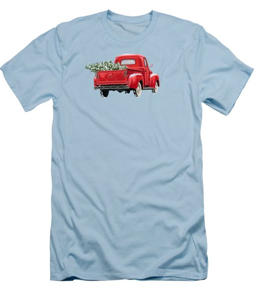 The Road Home Men's T-Shirt (Slim Fit) by Sarah Batalka