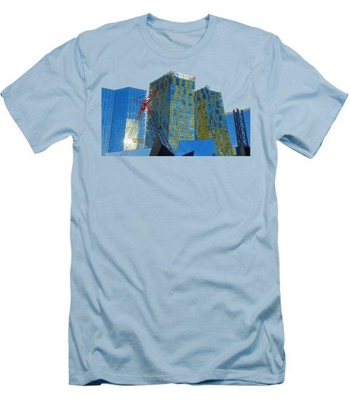 Under Construction Men's T-Shirt (Slim Fit) by Debbie Oppermann