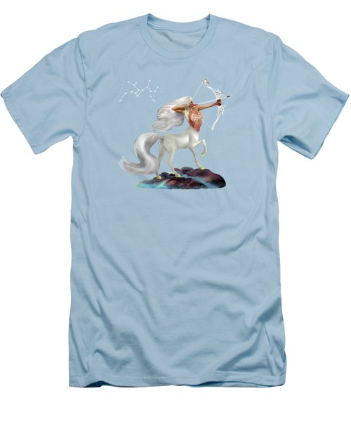 Mystical Sagittarius Men's T-Shirt (Slim Fit) by Glenn Holbrook