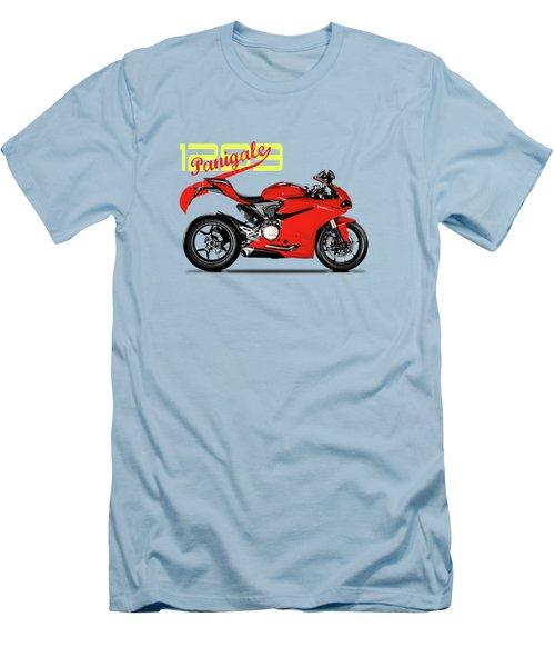 Ducati Panigale 1299 Men's T-Shirt (Slim Fit) by Mark Rogan