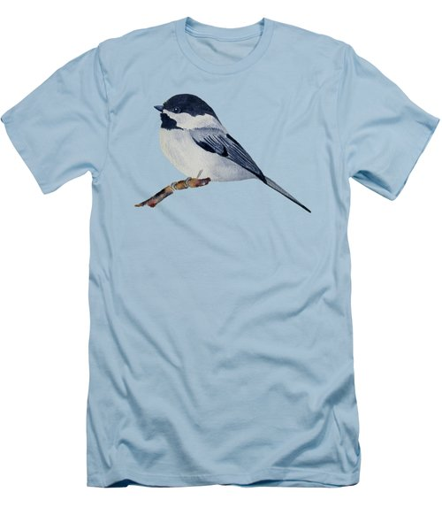 Chickadee Men's T-Shirt (Slim Fit) by Francisco Ventura Jr
