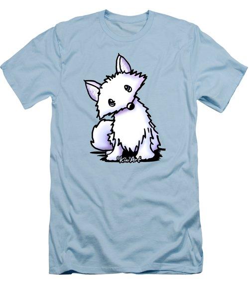 Arctic Fox Men's T-Shirt (Slim Fit) by Kim Niles