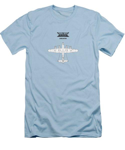 Avro Lancaster Men's T-Shirt (Slim Fit) by Mark Rogan