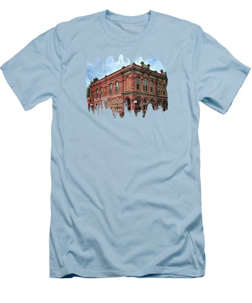 Boomtown Saloon Jacksonville Oregon Men's T-Shirt (Slim Fit) by Thom Zehrfeld