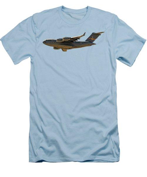 C-17 Globemaster IIi Men's T-Shirt (Slim Fit) by Mark Myhaver