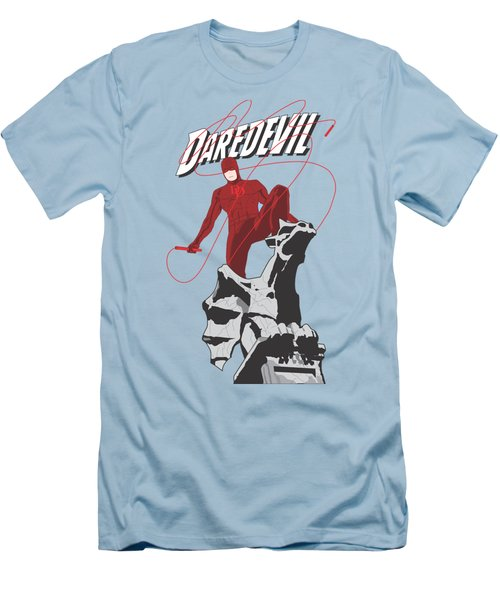 Daredevil Men's T-Shirt (Slim Fit) by Troy Arthur Graphics