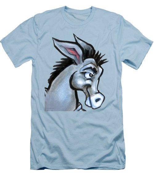 Donkey Men's T-Shirt (Slim Fit) by Kevin Middleton