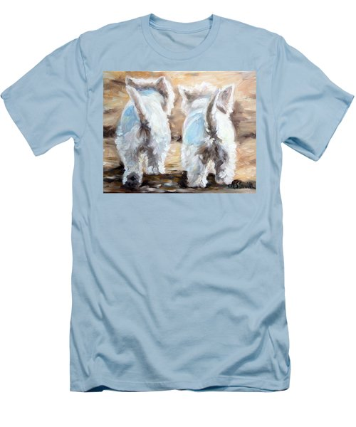 Farewell Men's T-Shirt (Slim Fit) by Mary Sparrow