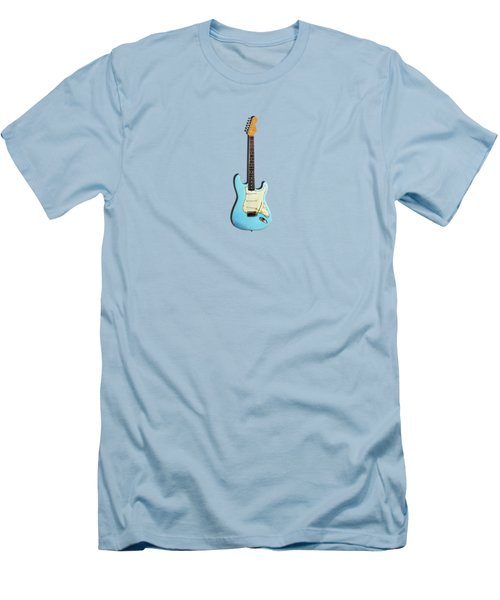 Fender Stratocaster 64 Men's T-Shirt (Slim Fit) by Mark Rogan