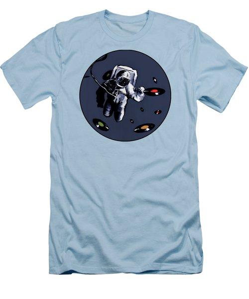 Interstellar Record Hunt Men's T-Shirt (Slim Fit) by Zombie Rust