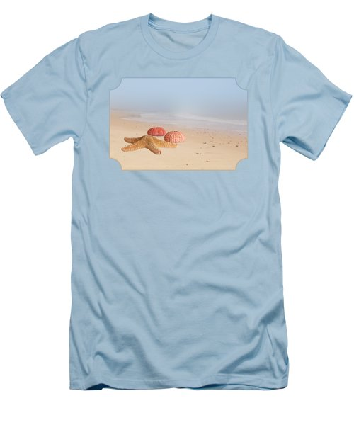 Memories Of Summer Men's T-Shirt (Slim Fit) by Gill Billington