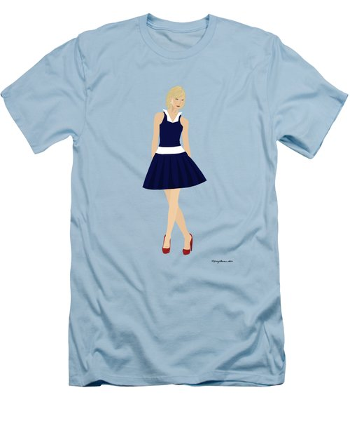 Morgan Men's T-Shirt (Slim Fit) by Nancy Levan