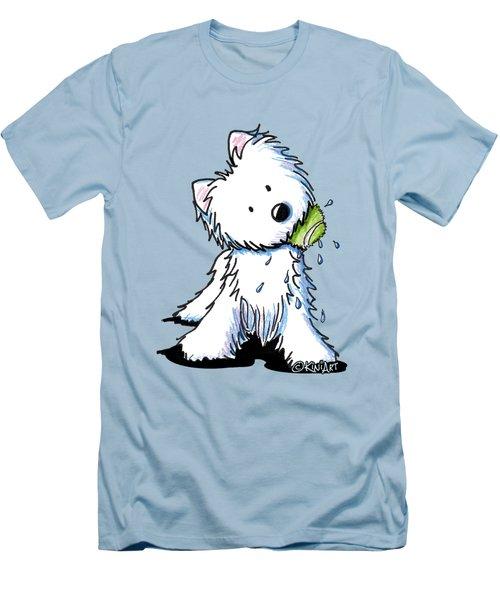 My Ball My Rules Men's T-Shirt (Slim Fit) by Kim Niles