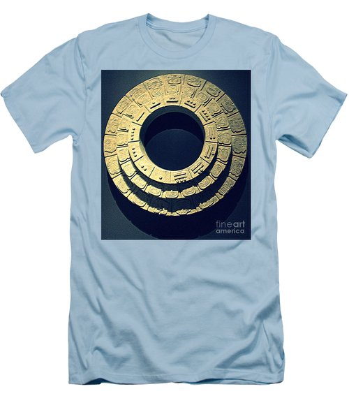 National Museum Of The American Indian 10 Men's T-Shirt (Slim Fit) by Randall Weidner