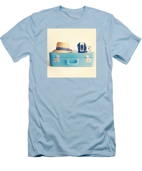 On The Road Men's T-Shirt (Slim Fit) by Colleen VT