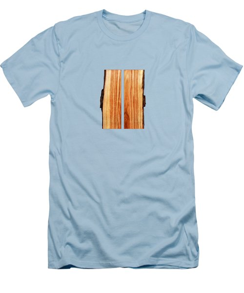 Parallel Wood Men's T-Shirt (Slim Fit) by YoPedro