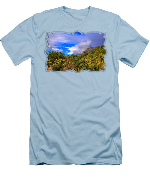 Sonoran Afternoon H11 Men's T-Shirt (Slim Fit) by Mark Myhaver