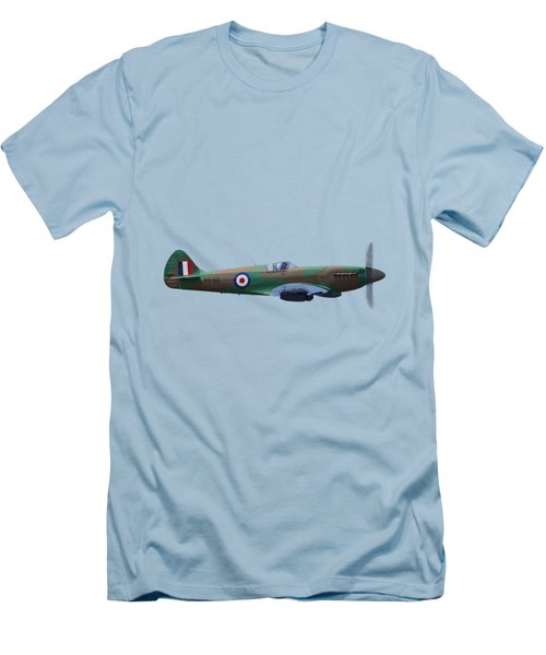 Spitfire Men's T-Shirt (Slim Fit) by Rob Lester Wirral