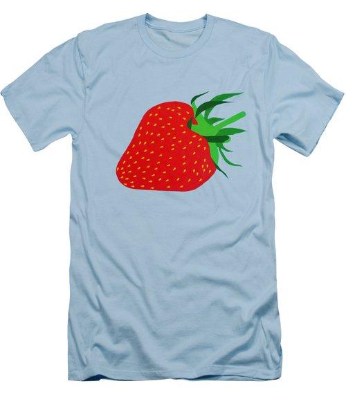 Strawberry Pop Remix Men's T-Shirt (Slim Fit) by Oliver Johnston