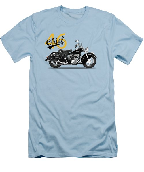 The 1946 Chief Men's T-Shirt (Slim Fit) by Mark Rogan
