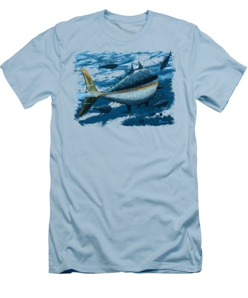 The Chase Men's T-Shirt (Slim Fit) by Kevin Putman