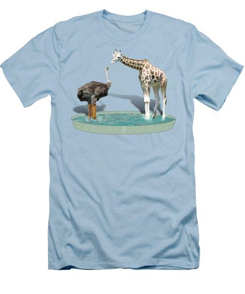 Wading Pool Men's T-Shirt (Slim Fit) by Gravityx9  Designs
