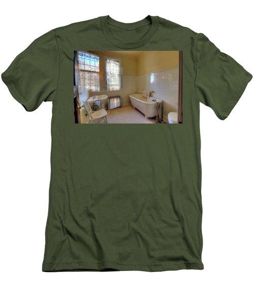 Glensheen Mansion Duluth Men's T-Shirt (Slim Fit) by Amanda Stadther