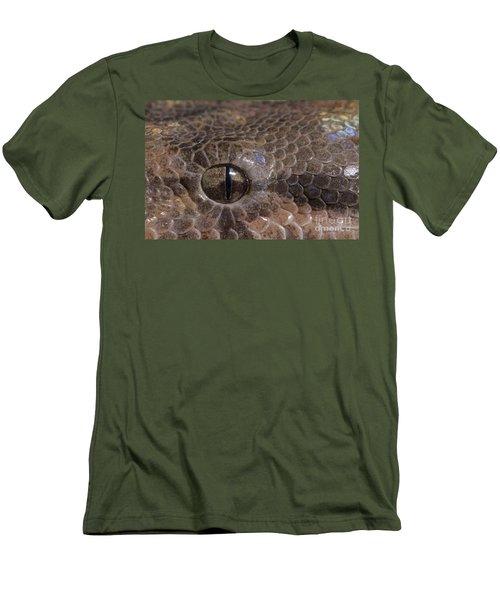 Boa Constrictor Men's T-Shirt (Slim Fit) by Chris Mattison FLPA