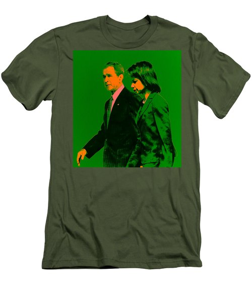 Bush And Rice Men's T-Shirt (Slim Fit) by Brian Reaves