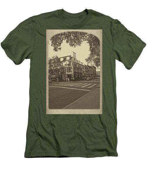 Corner Room Men's T-Shirt (Slim Fit) by Tom Gari Gallery-Three-Photography