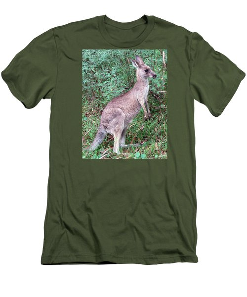 Grazing In The Grass Men's T-Shirt (Slim Fit) by Ellen Henneke