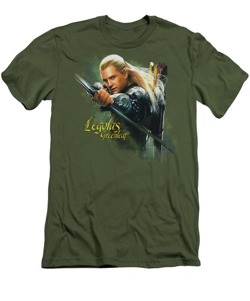 Hobbit - Legolas Greenleaf Men's T-Shirt (Slim Fit) by Brand A