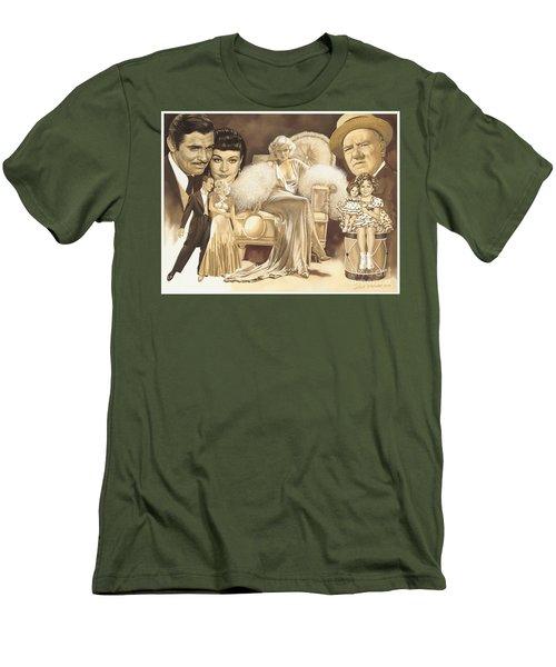 Hollywoods Golden Era Men's T-Shirt (Slim Fit) by Dick Bobnick