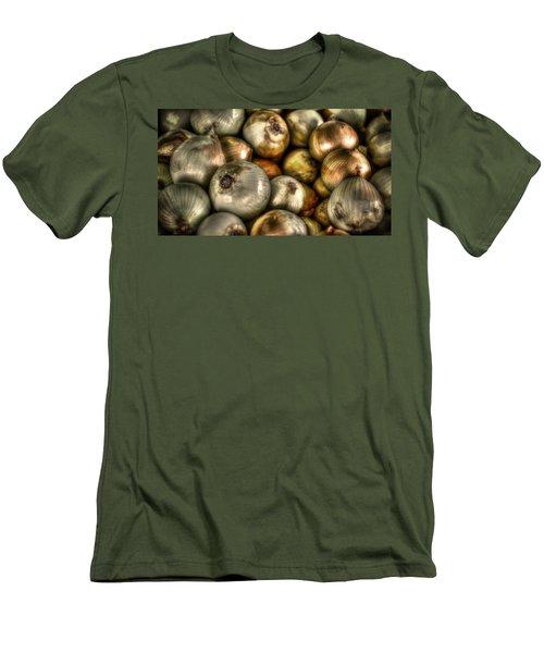 Onions Men's T-Shirt (Slim Fit) by David Morefield