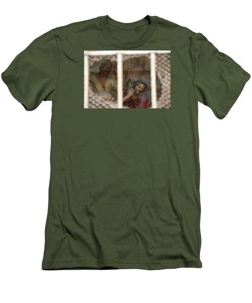 Men's T-Shirt (Slim Fit) featuring the photograph Sacri Monti  by Travel Pics