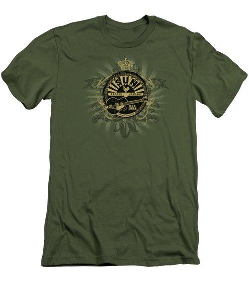 Sun - Rock Heraldry Men's T-Shirt (Slim Fit) by Brand A