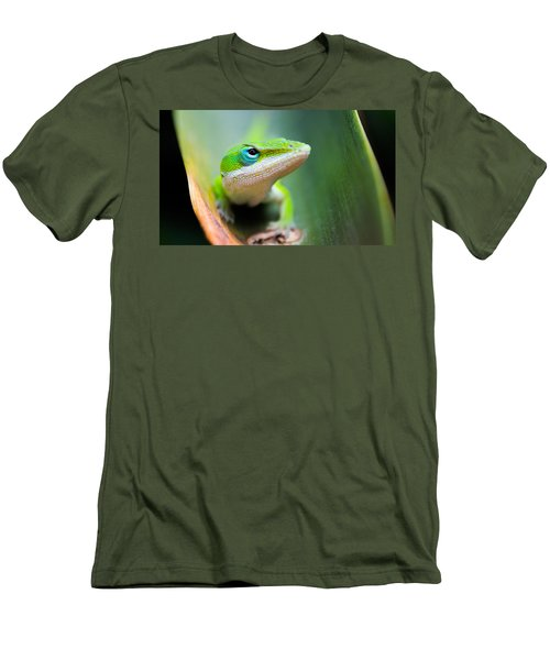 The Watching Eye Men's T-Shirt (Slim Fit) by Shelby  Young