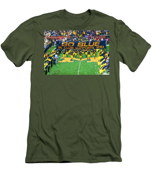 Wolverines Rebirth Men's T-Shirt (Slim Fit) by John Farr