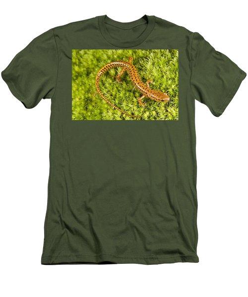 Longtail Salamander Eurycea Longicauda Men's T-Shirt (Slim Fit) by Jack Goldfarb