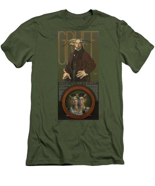 Willie Von Goethegrupf Men's T-Shirt (Slim Fit) by Patrick Anthony Pierson