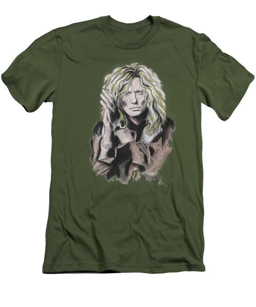 David Coverdale Men's T-Shirt (Slim Fit) by Melanie D