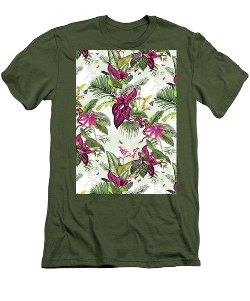 Nicaragua Men's T-Shirt (Slim Fit) by Jacqueline Colley