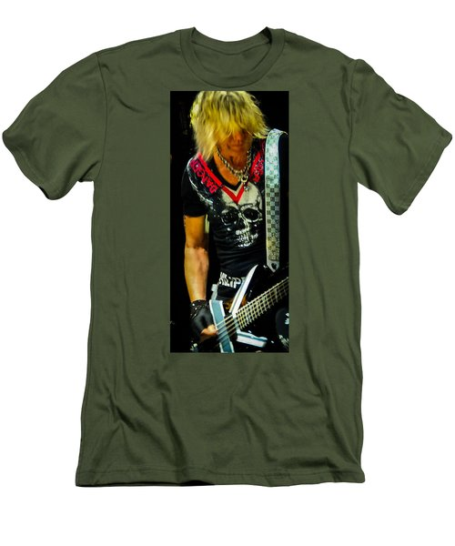 Ric Savage Men's T-Shirt (Slim Fit) by Luisa Gatti