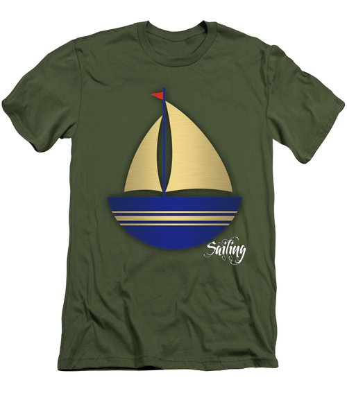 Nautical Collection Men's T-Shirt (Slim Fit) by Marvin Blaine