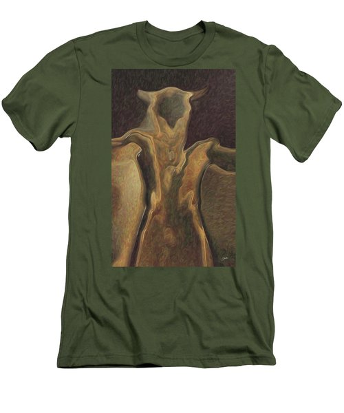 Minotaur  Men's T-Shirt (Slim Fit) by Quim Abella