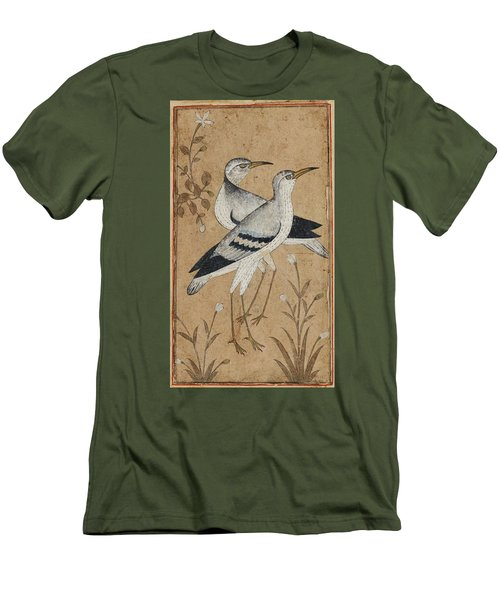 A Pair Of Lapwings Men's T-Shirt (Slim Fit) by MotionAge Designs