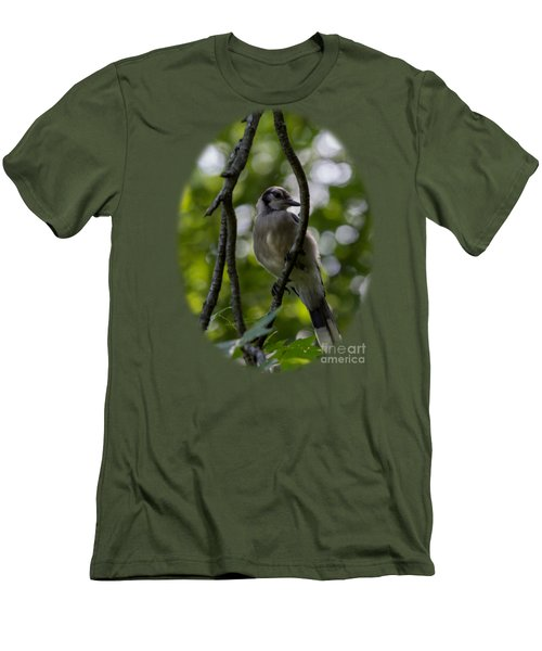 Afternoon Perch Men's T-Shirt (Slim Fit) by Brian Manfra