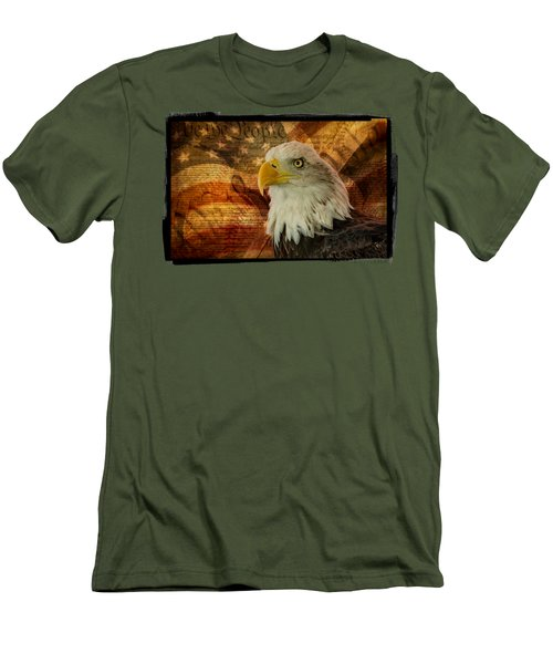 American Icons Men's T-Shirt (Slim Fit) by Susan Candelario